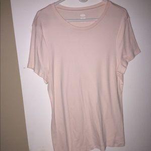 Nwot blush pink old navy tshirt